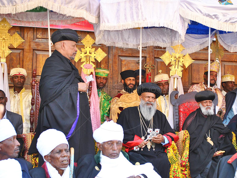 His Holiness Abune Mathias I, Patriarch and Catholicos of the Ethiopian Orthodox Tewahedo Church, Archbishop of Axum and Ichege of the See of St. Tekle Haimanot