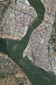 DigitalGlobe Satellite Image of 2013 Kumbh Mela. See Below For Link