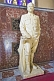 Image of White statue of Joseph Stalin, in the Stalin museum.