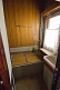 Image of Shower/bathroom in Joseph Stalin\\\\'s personal railway carriage, at the Stalin Museum.