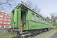 Joseph Stalin\\'s personal railway carriage, in the Stalin museum.