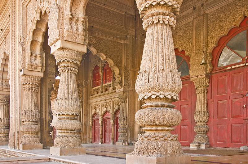 Lakshman Mandir, the only temple in India dedicated solely to Lakshman, has astonishing stone carving and panels.