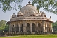 The Isa Khan Tomb Enclosure stands in the grounds of Humayun's Tomb.