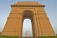 Image of Sunset at the 42m high Lutyens-designed India Gate war memorial.