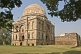 The Bara Gumbad tomb was built during the Lodi period (1421-1526).