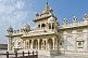 Jaswant Thada, a memorial to commemorate Jaswant Singh II was built 1899 from white Makrana marble.