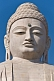 Detail of the 20m tall statue of the Buddha, which stands next to the Japanese Temple.