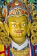 Buddhist religious image in the Bhutanese Temple.