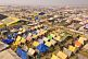 View of Maha Kumbh Mela camp from Lal Bahadur Shastri Bridge.