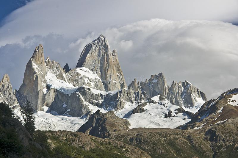 Fitzroy Mountains in the Parque Nacional Los Glaciares.