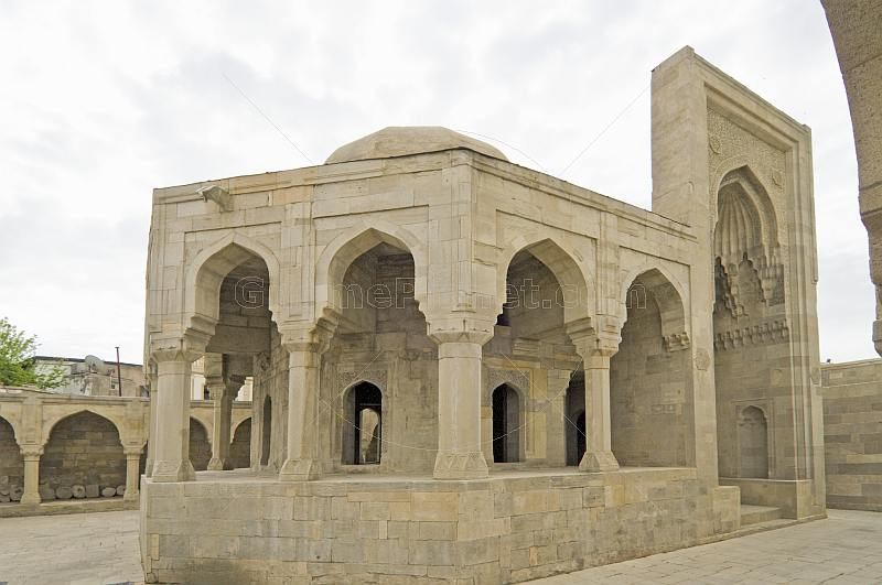 Inner courtyard at the Palace of the Shirvan Shahs.