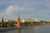 View of the Kremlin from the Moscow River.