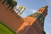 Kremlin walls and the Annunciation Cathedral.