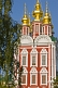 Transfiguration-Gate church, at the Novodevichy Convent.
