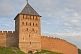 Image of Walls and tower of the Kremlin, which was rebuilt iin brick during the 14th century.