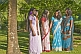 Sri Lankan Women in Traditional Saris - 21