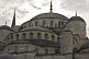 Image of Roof and domes of Sultan Ahmet's blue mosque in Sultanahmet.
