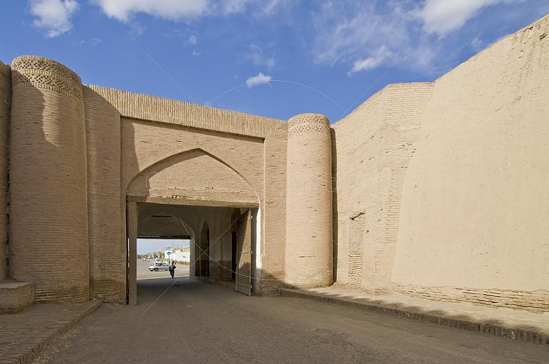 North Gate of the mud-brick city walls.