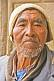 Old Bolivian man with a knitted hat.