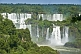 Image of Multiple waterfalls and jungle at the Iguazu Falls.