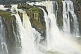 Image of Water cascades over the rocks at the Iguazu Falls.