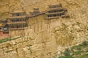 The Hanging Buddhist Monastery near Datong.