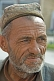 Elderly Uighur man with hat.