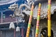 Colored incense sticks at the Great Buddha Temple.
