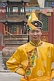 Boy in traditional dress at the Dazhao Buddhist Lamasery.