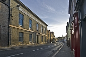Subscription Rooms in early morning on Yorkersgate.