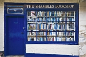 The Shambles Bookshop is the smallest in Britain.