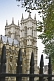 Image of Towers of Westminster Abbey a Gothic church in the City of Westminster built in 1722.
